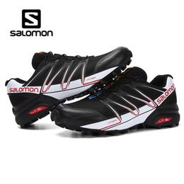 2019 massage masculin Salomon Speed Cross 3 CS Chaussures de sport de marque Salomon Sneakers Athlétique pour Sport SPEEDCROSS PRO Chaussures Escrime zapato massage masculin pas cher