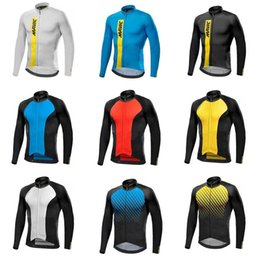 Wholesale Racing Long Sleeve - MAVIC team Cycling long Sleeves jersey Racing Sport Quick Dry Lycra MTB Bike Clothing ropa ciclismo hombre C1711