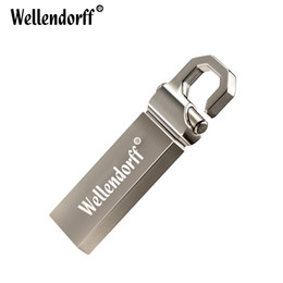 16gb mini flash drive Promo Codes - Mini metal USB Flash 32GB Drive 64GB 16GB Pen Drive memoria usb stick 8GB 4GB Pendrive Stainless Steel USB 2.0 Flash Drive