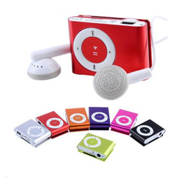 mini metal mp3 player Promo Codes - 2018 1-32GB Support SD TF Portable Mini Clip Metal USB MP3 Music Media Player Reproductor Mp3 Manual de usuario