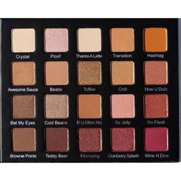 Paleta de violeta voss online-Paleta de maquillaje Violet Voss Pro Sombra de ojos My Holy Grail Palette 20 Colors Eyeshadow Cosmetics DHL