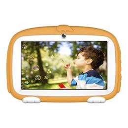 2019 educazione compresse 2018 Nuovo 7 pollici LCD tablet PC 4000mAh 1 GB di RAM + 8 GB ROM Professional Android 6.0 Learning Education Tablet US / EU Plug sconti educazione compresse
