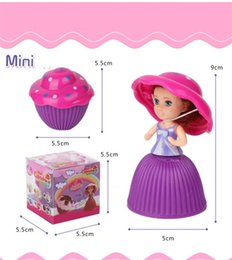 Wholesale Cupcake Toys - Mini Cupcake Doll Originality Cake Princess Fruits Aroma Dolls Reversible Magic Toys Popular For Girls Birthday Gifts Hot Sale 3 8xr Z