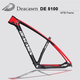 "Wholesale Mountain Bike Frame Sizes - 2018 Size 15 17 19"" 29er MTB Carbon Frame Paint Bike Full Carbon Mountain Frame Strong Carbon 29er Mtb Frame Hardtail"