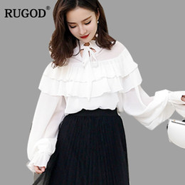 376bd302659ca Discount Girls Red Ruffle Blouse | Girls Red Ruffle Blouse 2019 on ...