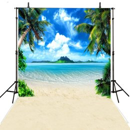 2019 fondo de estudio de playa Playa de mar Fotografía de fondo Contexto de vinilo para la fotografía Hawaii Fondo de boda para estudio fotográfico Foto Achtergrond fondo de estudio de playa baratos