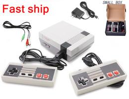 novos sistemas de jogos Desconto Mini jogos video video do console 620 do jogo da tevê da tevê um sistema do entretenimento de 8 bocados para jogos clássicos de Nes com a mini caixa nova