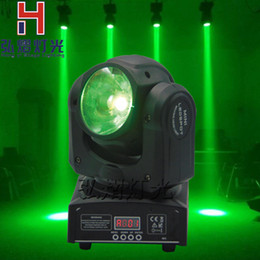 Wholesale Led Spot Club Lights - Wholesale- (1 pieces lot) 60W LED Moving Head Spot Light RGBW 4in1 Beam dj night clubs equipment DMX512 China 60w moving heads