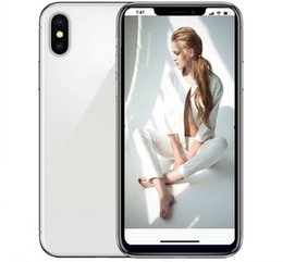 Wholesale glasses id - ERQIYU Goophone X i8 plus 5.8inch Face ID phone 13.0MP Octa Core MTK6592 show 4G LTE 4GB 128GB Back Glass Smartphone