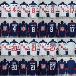 coupe du monde des états-unis Promotion 4 John Carlson 8 Joe Pavelski 9 Zach Parise 17