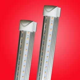 4 tubi di luce led t8 25w Sconti Migliore qualità LED T8 doppia fila Tubo 4FT 25w 28w 36W 2800LM G13 192 LED luce 1.2 m Doppia fila 85-265 V illuminazione fluorescente a led