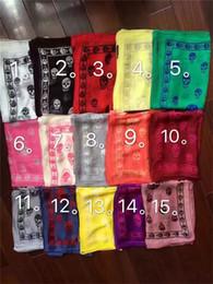 2019 melhores marcas de cachecol Marca designer lenço de caveira para mulheres e homens melhor qualidade 100% pur cetim de seda moda feminina marca lenços pashmina xales desconto melhores marcas de cachecol