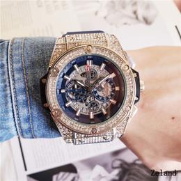 02bbe432b10 luxo Todos os mostradores funcionam big bang marca novos homens casuais  negócios de moda de quartzo relógio esportivo corrida militar relógio de  silicone.
