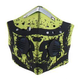 Polvere di guida maschere online-6 Styles Unisex Sport Viso Bocca Maschera Equitazione Ciclismo Bocca Muffola Anti-polvere Viso Anti-Viso