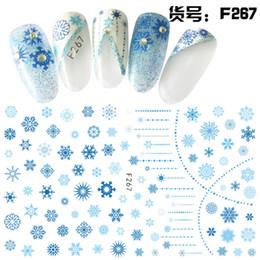 Nuovi disegni del chiodo 3d del fiore online-Yinikiz Nuovo 1 Pz Nail Sticker Flower Patterns Nail Tatuaggi Disegni Manicure Accessorio 3D impermeabile Art Decal