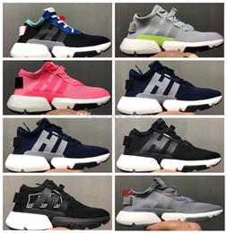 info for 8dd49 fac7f 2018 nuove migliori scarpe da corsa per uomo POD-S3.1 Bianco nero Blu rosa  Uomo donna scarpe sportive Sneakers Chaussures Designer Scarpe da  ginnastica ...