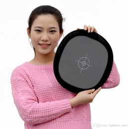 """Lightdow 12 """"Pouce 30cm 18% Réflecteur Carte Gris Pliable Blanc Balance Double Face Focusing Board avec Sac de Transport ? partir de fabricateur"""