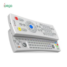 Wholesale pc keyboard types - iPega PG-9072 Wireless Bluetooth Gamepad+Remote Control Typing Keyboard for TV Phone PC Long Controlling Distance Slider Design