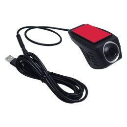 Видеокамера с картой памяти онлайн-720P HD автомобильный видеорегистратор камера передняя USB цифровой видеомагнитофон для автомобиля Android DVD-плеер GPS навигатор #4173