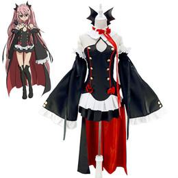 Argentina Owari no serafín del final Krul Tepes trajes de anime vampiro Hallowmas traje de uniforme de Halloween Outfit Anime Cosplay Disfraces Suministro