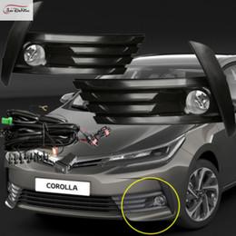 kit corolle Promotion Feux De Brouillard De Voiture pour Toyota Corolla 2017 Ampoule Halogène H11-12V 55W Avant Kit Antibrouillards