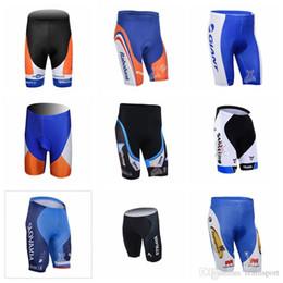 pantalones cortos hombres poliéster Rebajas RABOBANK STOLTING equipo pantalones cortos de ciclismo pantalones Nueva alta calidad Cool Pants poliéster desgaste elástico de la bicicleta Anti Pilling para hombres 841625