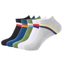 8c89bac6bc5 Fashion Men s Summer Socks Plus Size 5 pairs casual Coon Low Cut Socks  Men s Ankle Socks Large Size fit EU 43-47