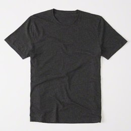 Wholesale Casual Men Wholesale Clothing - High Quarlity Mens Wholesale solid Cotton fashion short sleeve Letter casual o neck t shirts clothing