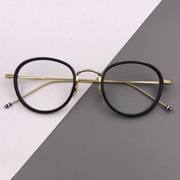 SPEIKE Prescripción personalizada Gafas Nueva Moda Gafas redondas TB905 Marcos para hombres y mujeres pueden ser lentes de miopía gafas desde fabricantes