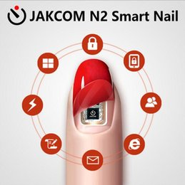 Wholesale wholesale nail led lights - JAKCOM N2 Smart Finger Nail Simulat IC card Connect Phone Flash LED Smart Manicure New Smart Wearable gadget N2M N2F N2L Nail Art