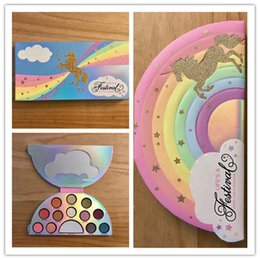 Wholesale Life Palette - Famous Life A Festival Eyeshadow Palette 13 Colors Eyeshadow Eye Shadow Good Quality DHL Free Shipping