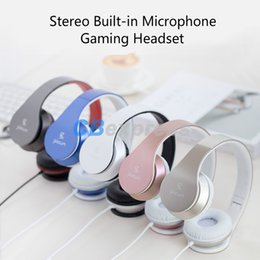 Wholesale white ps4 - Sound Intone C16 Wired Headphones PS4 Gaming Headsets with Stereo Built-in Microphone 3.5mm for Xiaomi for iPhone MP3 PC