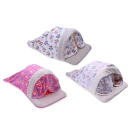 Wholesale Pet Cave - China Suppliers Pet Warming House Foldable Soft Cotton Autumn Winter Warm Sleeping Dog Cat Bed Cave