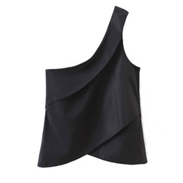 Women's Clothing Vieunsta Sexy V-neck Lace Stitching Chiffon Blouse Women Shirt 2019 Fashion Sleeveless Strap Vest Blouses Summer Streetwear Tops