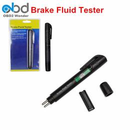 Wholesale Diagnostic Electronic - Mini Electronic Brake Fluid Liquid Tester Pen Auto 5LED Car Fluid Liquid Tester Diagnostic Tool Test Brake Oil For DOT3 DOT4