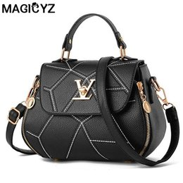 bolsos de embrague para mujer Rebajas Famose Brand Womens Bag Luxury Leathe Handbags Shell thread Ladies Embrague Designer Bag Sac A Main Femme Bolsas Bolso para mujer Y1892110