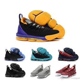 f806076923d1 nike air max 16c hochwertige Asche lila Gold Los Angeles gleich James  Männer Basketballschuhe James Sneaker Junge König 23