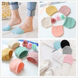 2019 женские невидимые носки 5 Pairs Womens Non Slip High Heels Sandal Invisible Breathable Mix Color Half Footie Cotton Socks QLY9222 скидка женские невидимые носки