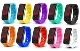 Deutschland Led-Hand-Ring der zweiten Generation Kieselgel elektronische Armbanduhr Geeignet für Menschen jeden Alters Zehn Farbe optional Sommer Überfluss Versorgung