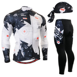 Wholesale Army Cycling Jersey Xl - Wholesale-Life on Track Pro Thin Long Sleeve Cycling jersey Sets men Sportswear Mtb Bike Bicycle 3D Gel Padded Cycling Clothing 2016