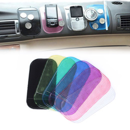 Suporte para telefone de carro de traço on-line-Universal Almofada Pegajosa Anti-Slip Mat Gel Dash Car Mount Titular para Telefone Celular de Alta Qualidade 7 Cores Disponíveis