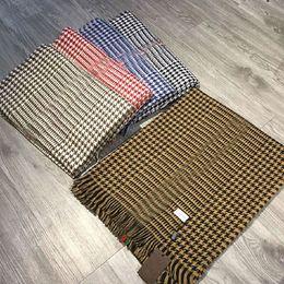 Wholesale Cashmere Poncho Black - Luxury Brand Scarf for Women Designer Scarves Fashion Girls Shawl Wool Blend Pashmina Christmas Gift without Box
