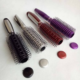9.8inch Hair Brush Stash Safe Diversion Secret storage boxs Security Hairbrush Hidden Valuables Hollow Container Pill Case 4 colors choose