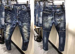 2018 Nouvelle arrivée de haute qualité mens biker jeans mode célèbre marque  designer jeans 803-1 c7914364f80c