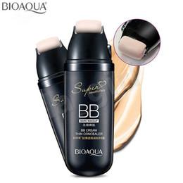 Iluminación de desplazamiento online-BIOAOUA Scroll Flawless Light BB Cream Thin Concealer Base hidratante Maquillaje Belleza
