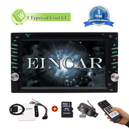 Wholesale Map Tuner - Reverse Camera+Double Din Car Stereo Car DVD Radio WinCE Bluetooth DVD Radio USB TF AUX SWC 6.2''Touch Screen GPS Navigation+8GB Map Card