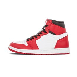 Wholesale cheap red boots for sale - Cheap 1 OG Basketball Shoes I OG Top 3 Banned Bred Toe Chicago Game Royal Banned Shadow Sneakers for sale Athletics Discount Boots size 7-13