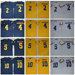74793e7f2 College Michigan Wolverines Jerseys Football 10 Tom Brady 5 Jabrill Peppers  2 Charles Woodson 4 Jim Harbaugh Limited Legend Elite Big Ten brady michigan  ...