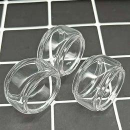 Tanque de pyrex ahumado online-Ecig Clear Glass Tube para Smok TFV8 Baby V2 II Tanques atomizadores Bombilla Fat Boy Convex E extendido cig Pyrex Glass embalaje de espuma