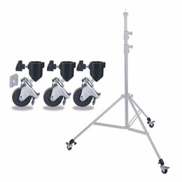 Wholesale professional wheels - 3 Packs Professional Swivel Caster Wheel Set Suitable for Studio Video Photography